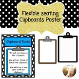 Flexible Seating Clipboards poster