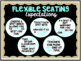 Flexible Seating Management Pack - Display Expectations Reflection Editable