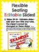 Flexible Seating Editable Bundle