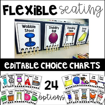 Flexible Seating Management Editable