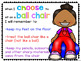 Flexible Seating Editable Rules Choice Cards & Posters
