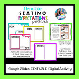 Flexible Seating Expectations Posters Editable for Google Slides