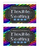 Flexible Seating Flip Book Handout