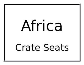 Flexible Seating Groups (Editable)