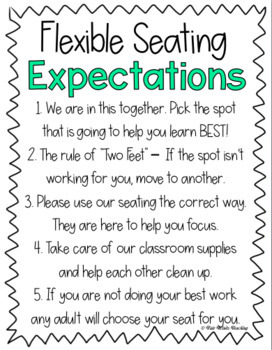 Flexible Seating Growing Resource