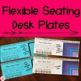 Flexible Seating Growth Mindset Desk Plates