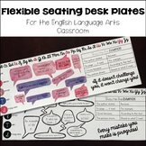 Flexible Seating Growth Mindset Desk Plates for English La