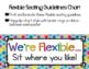 Flexible Seating - Editable Parent Letter & Anchor Charts