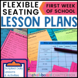 Flexible Seating LESSON PLANS for the First Week