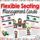 flexible seating management cards and teaching posters
