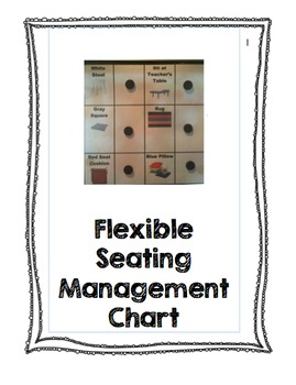 Flexible Seating Management Chart