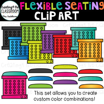 Flexible Seating Mega Clip Art Bundle {240 images}
