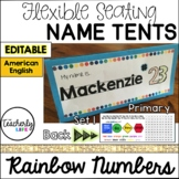 Flexible Seating Name Tents - Primary (American English) *