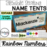 Flexible Seating Name Tents - Primary (Canadian/UK English