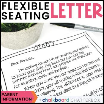 Flexible Seating Parent Letter