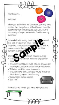Flexible Seating Parent Letter & Contract