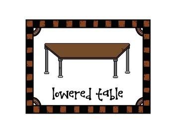Flexible Seating Poster Set