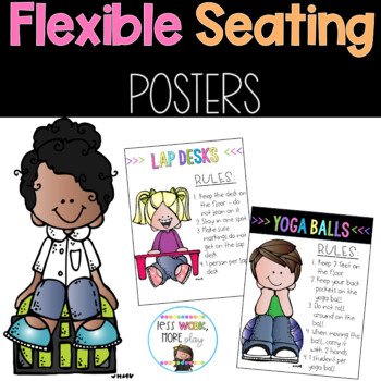 Flexible Seating Posters - 2 Different Styles