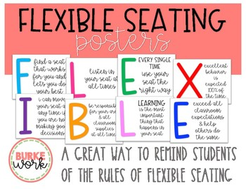 Flexible Seating Posters
