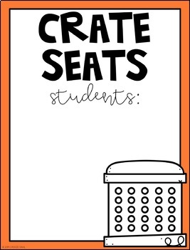 Flexible Seating Posters (Bulletin Board Kit)