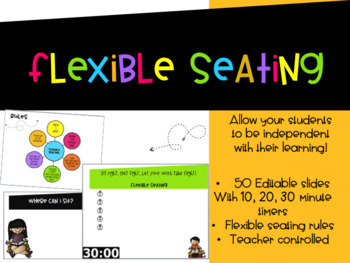 Flexible Seating Ppt