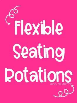 Flexible Seating Rotation Board