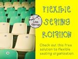 Flexible Seating Rotation Freebie