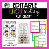Flexible Seating Rotations Editable (Google Slides)