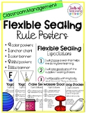 Flexible Seating Rule Posters + Anchor Chart + Banner