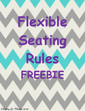 Flexible Seating Rules Freebie