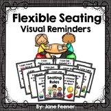 Flexible Seating Rules - Visual Reminder Posters