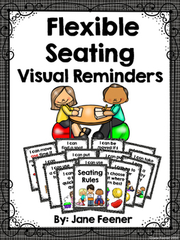Flexible Seating Rules (with periods added) - Visual Remin