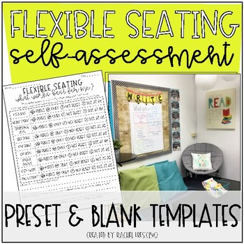 Flexible Seating Self-Assessment