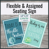Flexible and Assigned Seating Sign