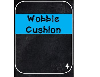 Flexible Seating Signs - FREE
