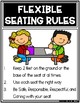 Flexible Seating Smart Spot Special Seat Rule Posters