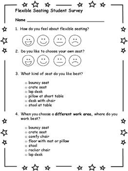 Flexible Seating Student Survey