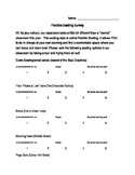 Flexible Seating Survey