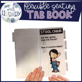 Flexible Seating Tab Book