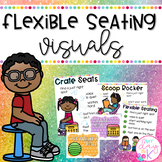 Flexible Seating Visuals for the Classroom *Editable*