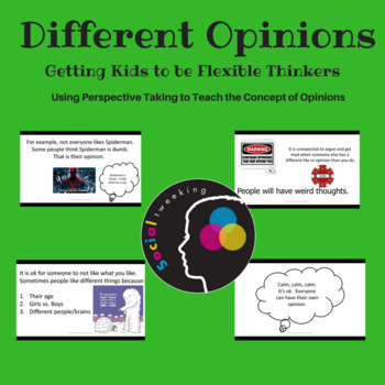 Flexible Thinking;  Different Opinions; Perspective Taking