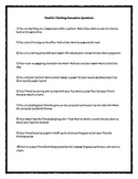 Flexible Thinking Discussion Questions