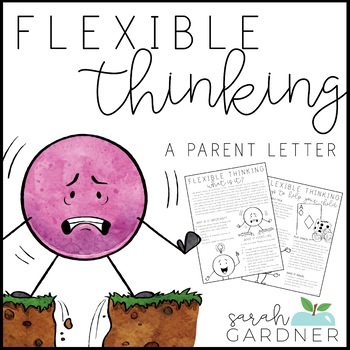 Flexible Thinking Parent Letter