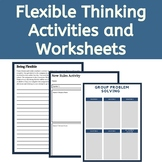 Executive Function Activities & Worksheets: Flexible Thinking