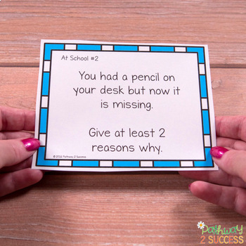 Flexible Thinking Task Cards