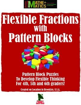 Pattern Block Flexible Unit Fraction Cooperative Activity