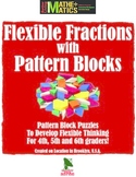 Pattern Block Flexible Unit Fraction Cooperative Activity