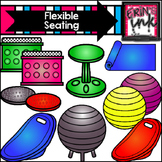 Flexible and Alternative Seating Clipart (Erin's Ink Clipart)