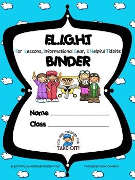 Flight {Airplane} Binder Cover