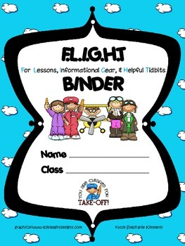 Flight {Airplane} Binder Cover